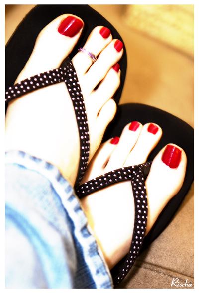 My feet! LOL