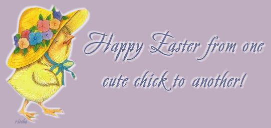 Easteronecutechick